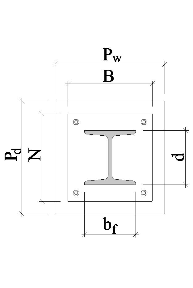 Base Plate Concentric Loading